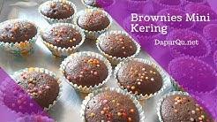 Resep Brownies Mini Kering - kue kering lebaran Brownies Kering