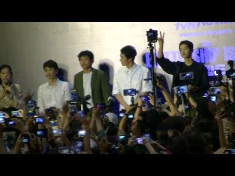 Hwang Jung Min, So Ji Sub & Song Joong Ki, The Battleship Island (군함도), Mall Appearance, 9 Aug 2017