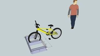 Build A Bike Rack Plan Using Sketchup