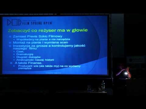 """Sławomir Idziak """"Nowy model produkcji filmowej"""" na Plenerach Film Spring Open 2012"""