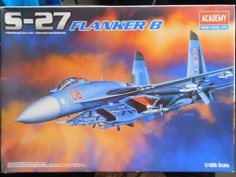 Academy 1/48 S-27 Flanker B (Part 4 & Last)