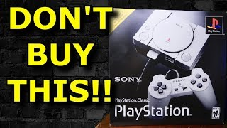 Do NOT Buy the PlayStation Classic!! Pure Broken TRASH? - Console Review