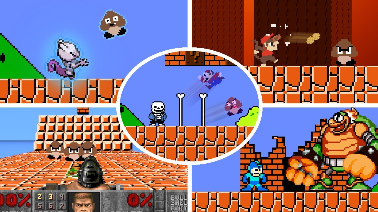 Download OP Characters in Super Mario Bros. ALL EPISODES (Team Level UP: Season 1)