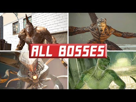 The Amazing Spider-Man: (All Bosses)