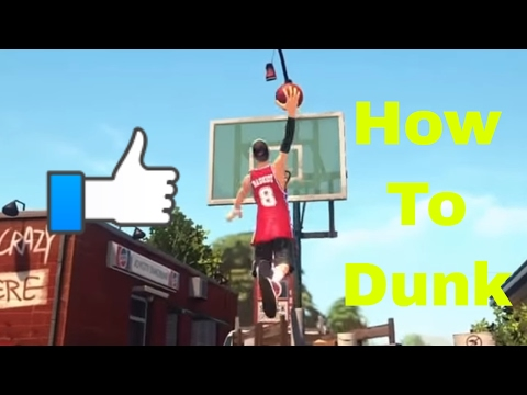 3on3 Freestyle how to dunk with any player