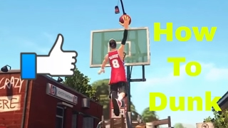 vuclip 3on3 Freestyle how to dunk with any player