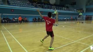 20161223會長盃QF U12 MS梁子睿(北市日新)vs陳政佑(新北秀山)