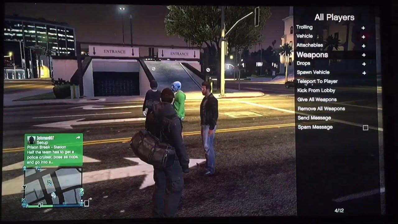 GTA 5 Money Lobby REAL MODDERS DONT NEED YOUTUBE VIEWS TO MOD ACCOUNTS YouTube