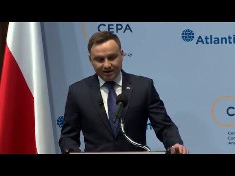 A Conversation with Polish President H.E. Andrzej Duda hosted by CEPA & Atlantic Council