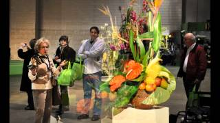 2012 Philadelphia International Flower Show -- Arrangements and Pressed Flowers