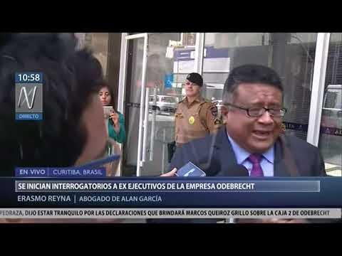 Odebrecht coordinó contratación de Alan García para conferencias [Canal N]