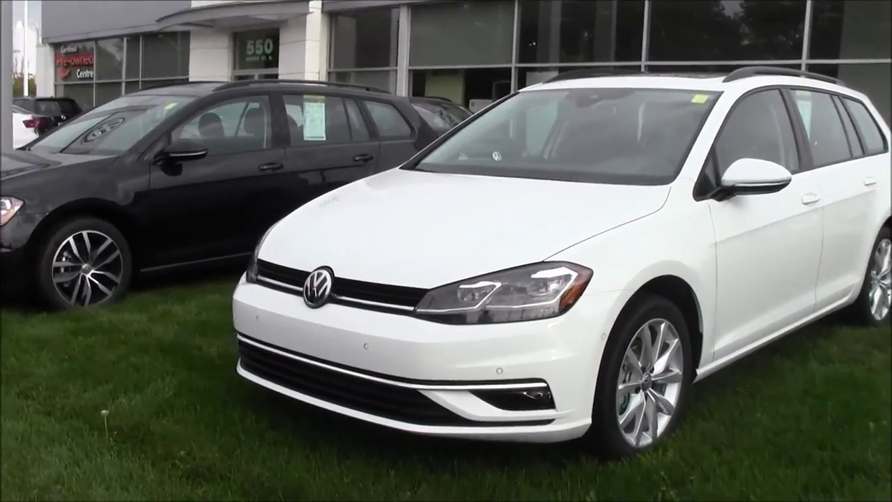 Comparison 2017 Vs 2018 Golf Sportwagen Youtube