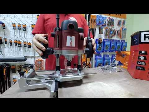 Обзор ручного фрезера по дереву RedVerg RD-ER160: какой фрезер выбрать для домашней мастерской