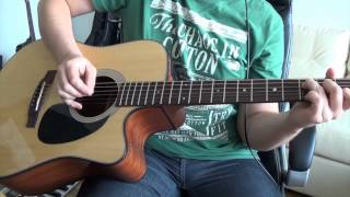 Soul Asylum - Runaway Train (full guitar cover) HD