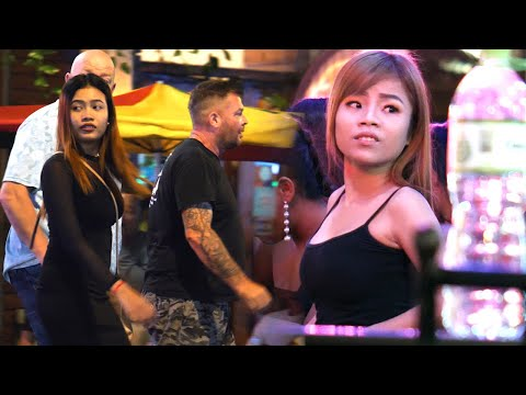 Cambodia Nightlife - Beautiful Hostess Ladies