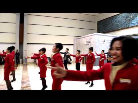 Cathay Pacific Jakarta Flash Mob Dec 2016