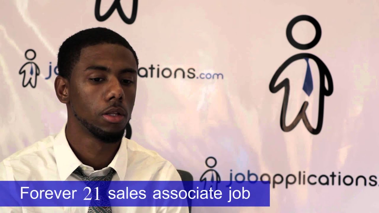 Forever 21 Interview Sales Associate 2 Youtube