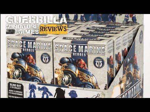 GMG REVIEWS - Space Marine Heroes (UK/NA Edition - Series 1)