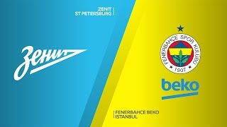 Zenit St Petersburg - Fenerbahce Beko Istanbul Highlights | Turkish Airlines EuroLeague, RS Round 23