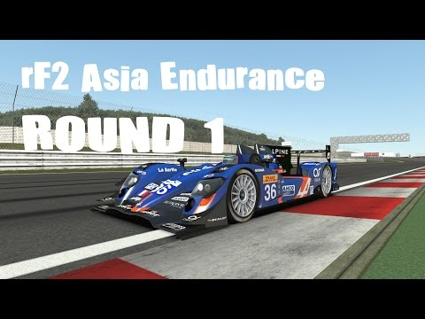 rFactor 2 : rF2 Asia Endurance Round 1 - 2.4 Hours Of Fuji