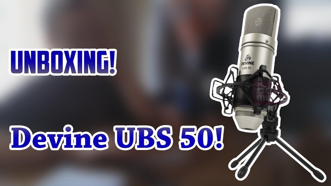 Unboxing Devine USB-50 + Audio test!