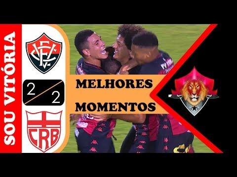 Vitória 2 x 2 CRB - Melhores Momentos (HD) - Série B 12/11/2019