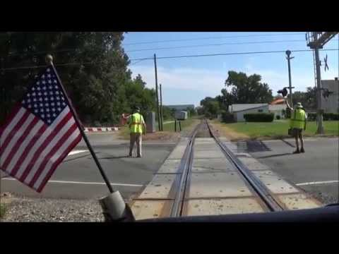 [HD] Chasing the 'Little Yellow Train'; Railway Workers Museum Running; August 15, 2015