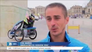 Défi : 3 000kms à pieds contre la maladie de son fils