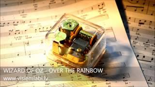Wizard Of Oz - Over The Rainbow Sankyo Music Box - Mūzikas Lādīte