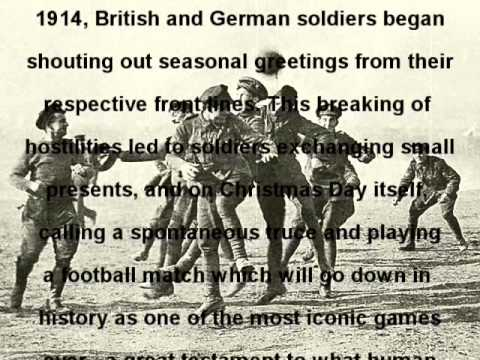 World War One Football Truce - Bullets And Daffodils
