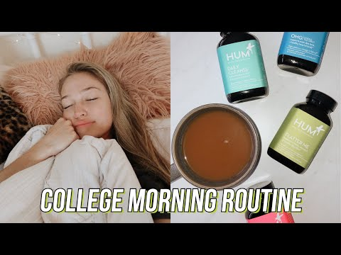 college morning routine feat. hum nutrition | maddie…}