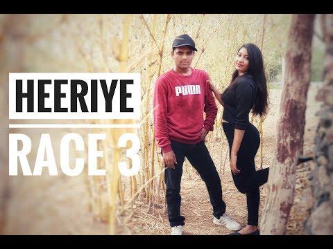 Heeriye SongRace 3|| Salman Khan, JacquelineMeet Bros ftDeep Money|| dance video