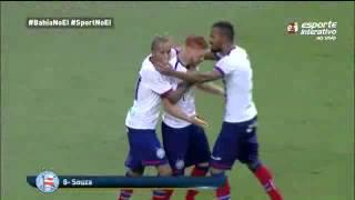 Bahia 3 x 2 Sport PE   Copa do Nordeste 2015   Todos os gols