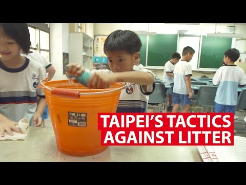 Taipei's Tactics Against Litter | It Figures | CNA Insider