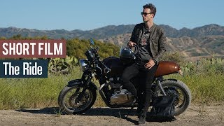 Men's Motorcycle Outfit Inspiration   The Ride - Fashion Short Film   Marcel Floruss