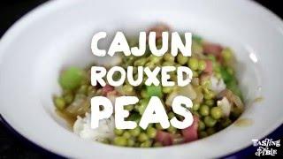Cajun Rouxed Peas with Isaac Toups