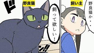 【漫画】子猫が捨てられていたので拾った話【マンガ動画】