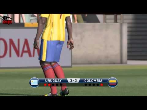 PES 2015 Online - Penaltis Uruguay 2 - 2 Colombia [Nico vs Rhiu]