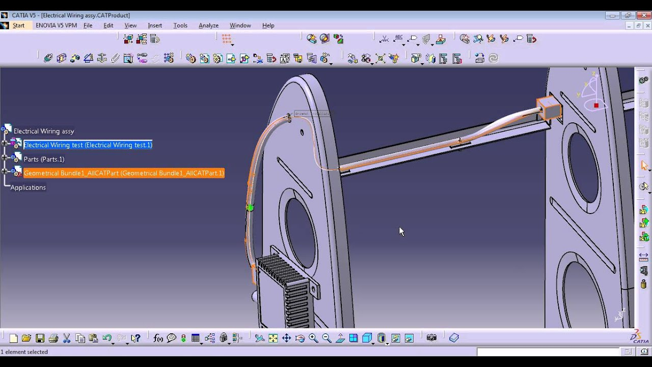 maxresdefault wing wire harness assy 4 flattening fix youtube wire harness design in catia v5 at bakdesigns.co