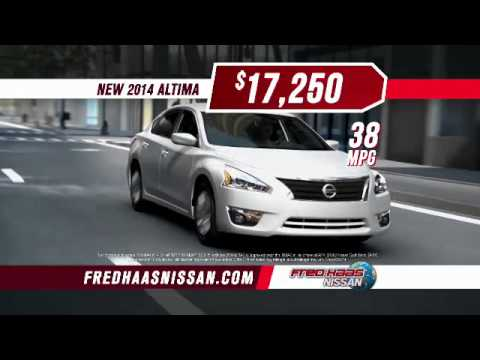 Red Tag Sale - Nissan Altima - Fred Haas Nissan - YouTube