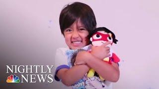 Walmart Turns To 6-Year-Old YouTube Millionaire | NBC Nightly News