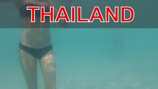 Пляж Таиланда, пока зима в России.