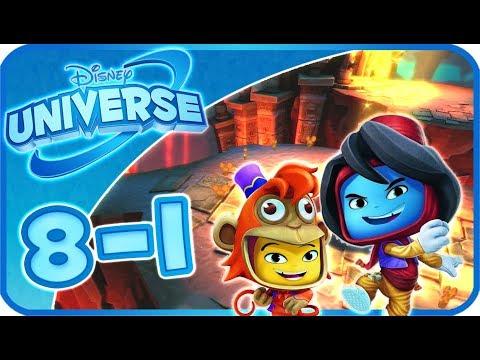Disney Universe Walkthrough Part 8 - 1 (PS3, Wii, X360) 100% ~ Aladdin - 1