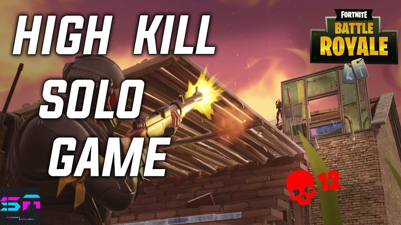 First High Kill Fortnite Game Fortnite Battle Royale Kills