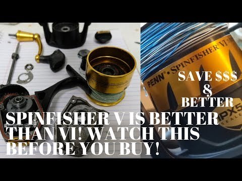 SPINFISHER VI Review, THE TRUTH! V Is BETTER AND CHEAPER!