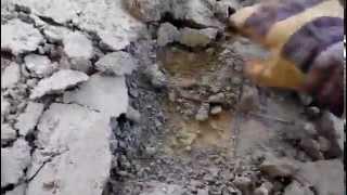 Bourání betonu po zedníkovi fušerovi