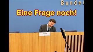 BPK Bundespressekonferenz 12.04.2021 von Boris Reitschuster / Eine Frage noch!