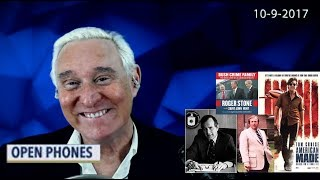 Roger Stone Discusses Barry Seal (American Made) Open Phones and latest news