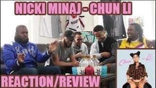 QUEEN'S BACK!! NICKI MINAJ - CHUN LI REACTION/REVIEW