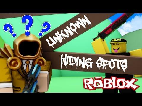 8 RARE & UNKNOWN HIDING SPOTS... Shhh!   Murder Mystery 2